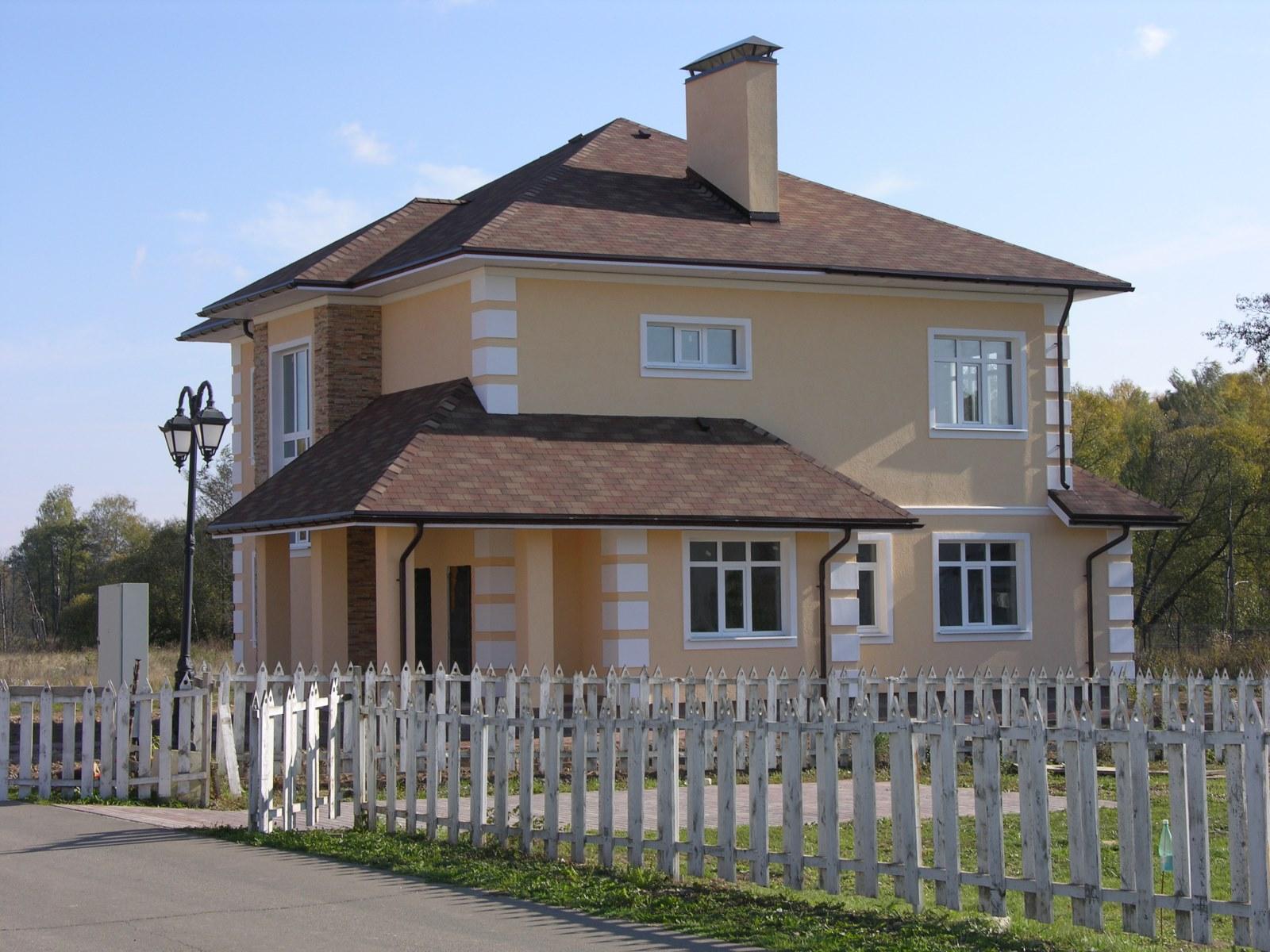 Коттедж № 4 в строящемся коттеджном поселке