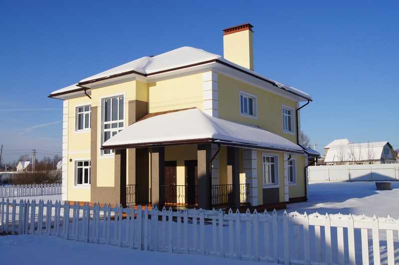 Загородный коттедж № 21 на продажу в поселке «Беляевская слобода»