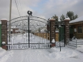 ворота КП Беляевская слобода